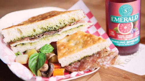 Four Seasons Pressed Rosemary Focaccia Sandwich