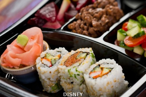 Fantasmic tuna sushi roll