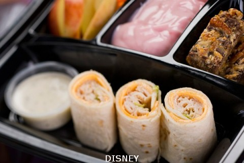 Fantasmic turkey cheese Kids Meal