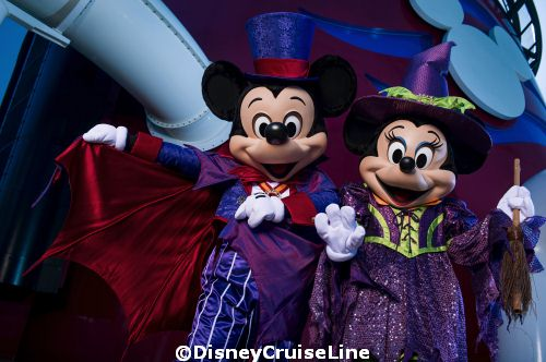 New Halloween Celebrations on the Disney Cruise Line
