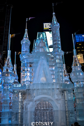 Disney Ice Castle Times Square