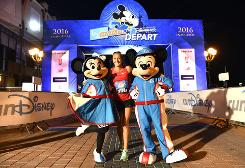 Paula Radcliffe Disneyland Paris Half Marathon Ambassador