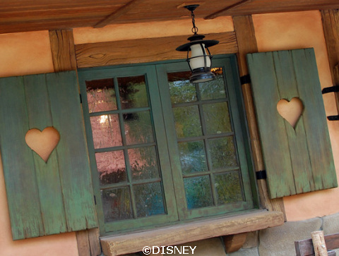 Maurice and Belle's Cottage in Fantasyland