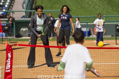 Michelle Obama at Disney's ESPN Wide World of Sports Complex