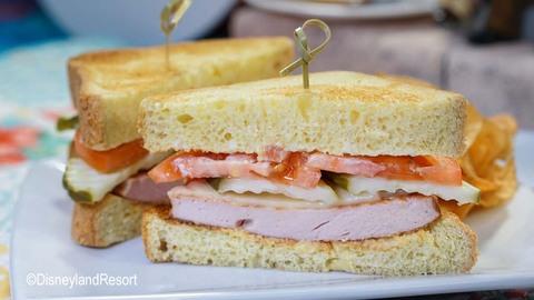 Pixar Fest Fried-ricksen Bologna Sandwich