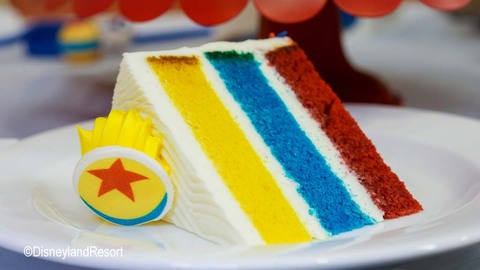 Pixar Fest Celebration Cake
