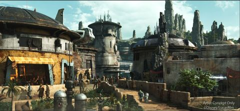 Black Spire Outpost at Star Wars Galaxy's Edge