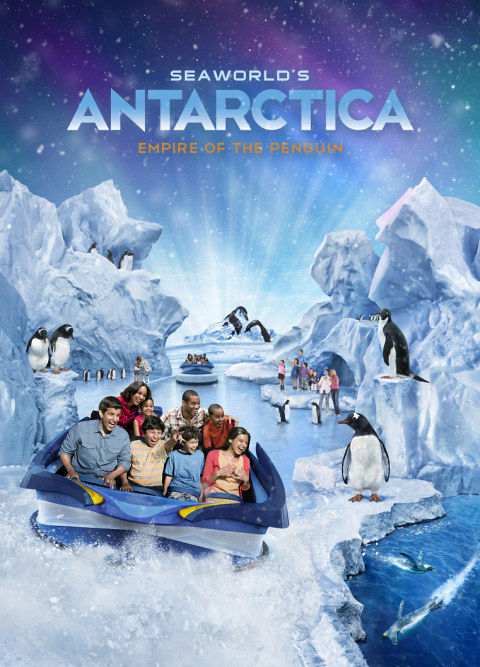 Sea World's New Antarctica Ride Vehicle