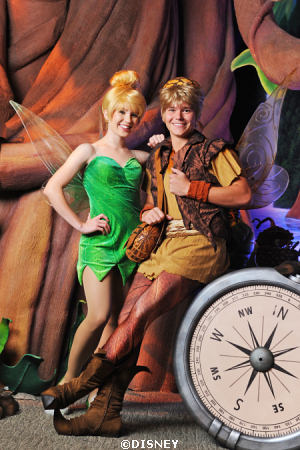 Terence appears at PixieHallow with Tinker Bell