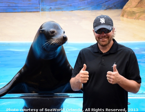 Toby Keith SeaWorld