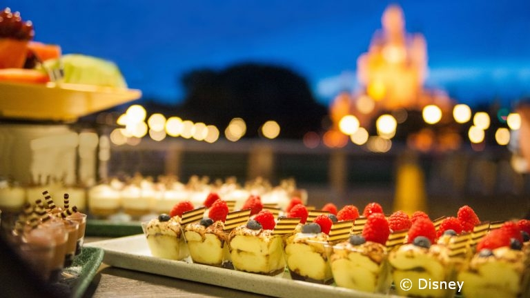 After Fireworks Dessert Party Added in Magic Kingdom