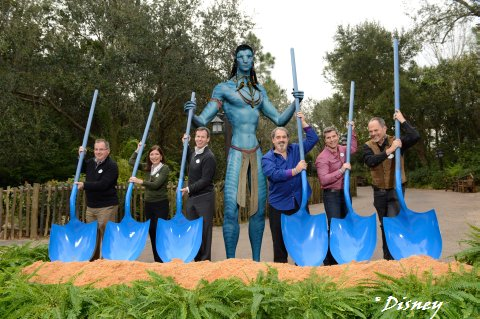 Groundbreaking for AVATAR Land