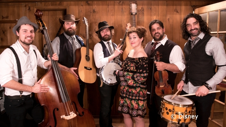 Blueberry Grass Band Starts June 13 in Epcot's Canada Pavilion