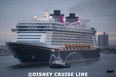 Disney Dream Arrives in Port Canaveral