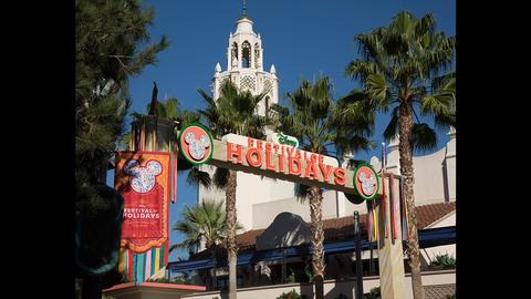 Holidays at Disneyland Resort Nov. 10 - Jan. 7