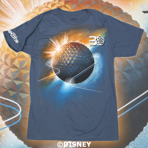 Epcot 30th Celebration Merchandise