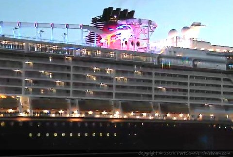 Disney Fantasy Arrives Port Canaveral