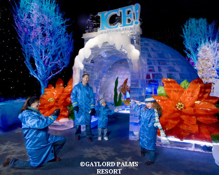 gaylord palms ice - Christmas At Gaylord Palms