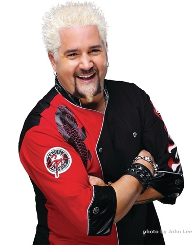 Celebrity Chef Guy Fieri Teams Up with Planet Hollywood