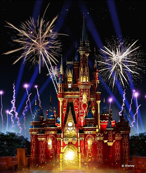 Happily Ever After Show at the Magic Kingdom