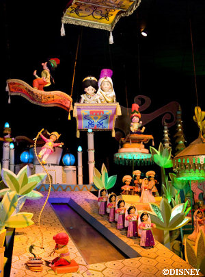 Disneyland's it's a small world  Jasmine