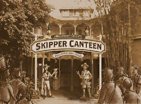 "Jungle Cruise-Themed ""Skipper Canteen"" to Open Late 2015!"