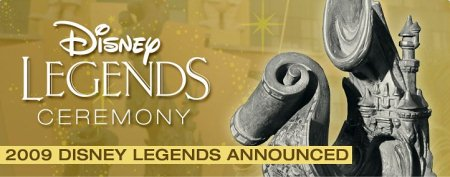 Disney Legends Announced