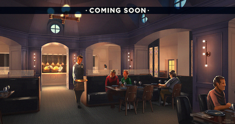 Ale and Compass Restaurant Rendering