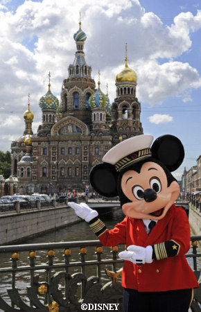 Mickey in Russia