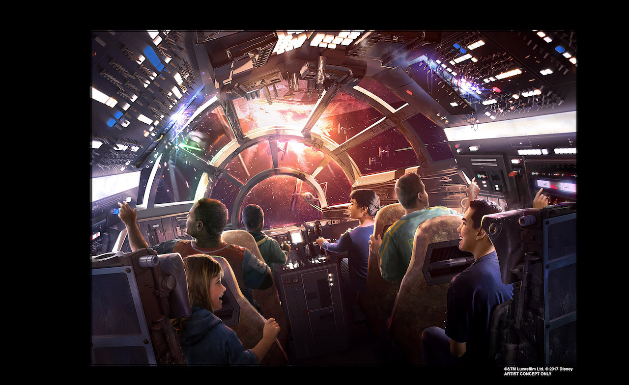 Hollywood Studios Millennium Falcon Disney's Star WarsGalaxy's jL4R35A
