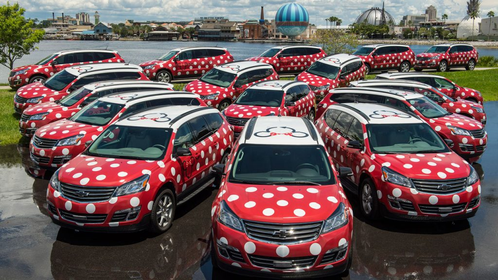 Minnie Van Service Now Available Resort-Wide