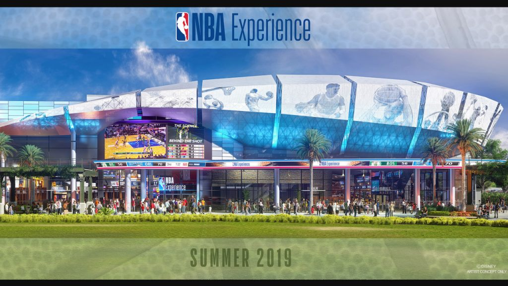 NBA Experience to Open at Disney Springs in 2019
