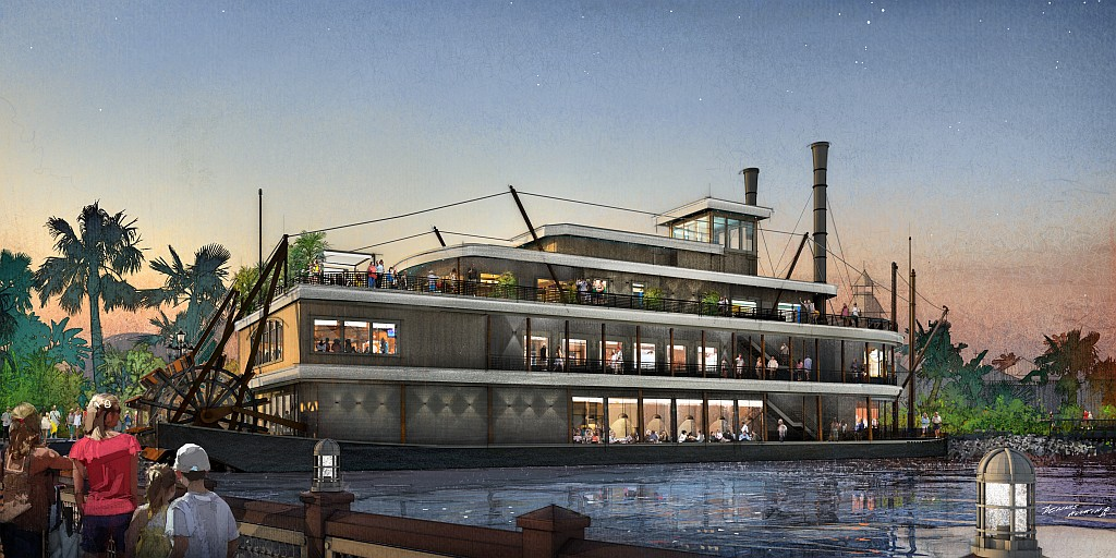 Paddlefish at Disney Springs Set to Open Feb. 4!