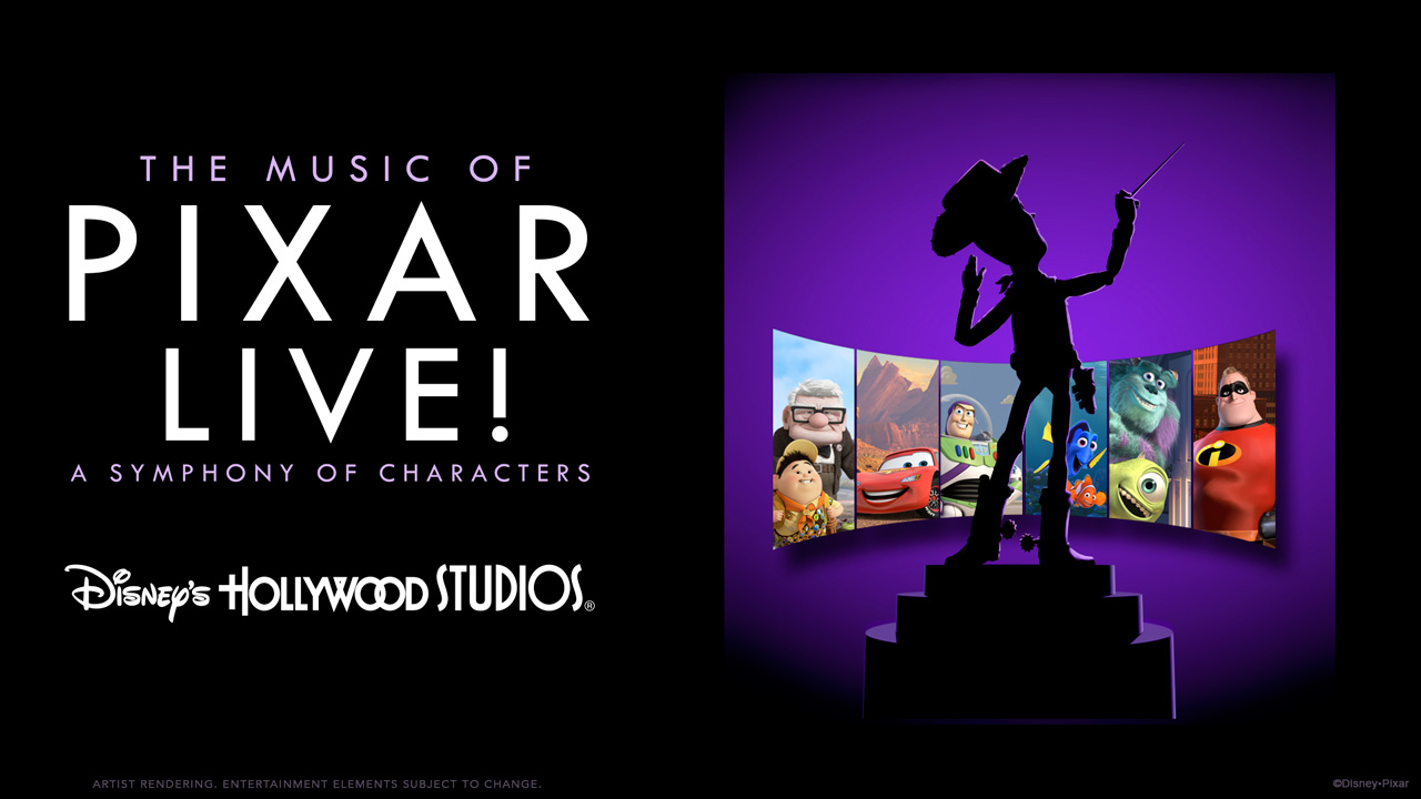 """""""Music of Pixar LIVE"""" Dining Packages Available"""