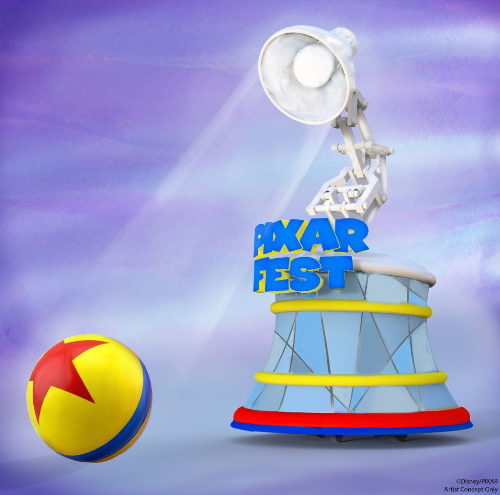 Image result for disneyland pixar fest