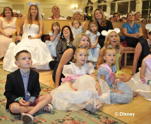 A ROYAL CELEBRATION Hundreds gathered at Disney 39s Wedding Pavilion at Walt