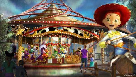 Concept Art for New Pixar Pier Attractions and Restaurants