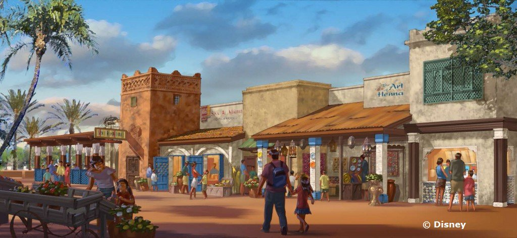 Spice Road Table Coming to Morocco Pavilion at Epcot World Showcase (Disney and Florida ...