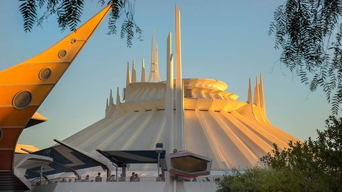 Classic Space Mountain Returns to Disneyland
