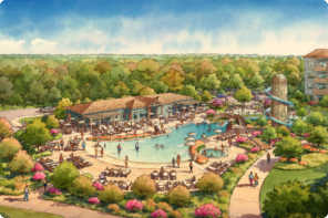 Rendering of new Saratoga Springs Pool