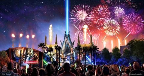 Disney's Hollywood Studios: Star Wars A Galactic Spectacular Debuts