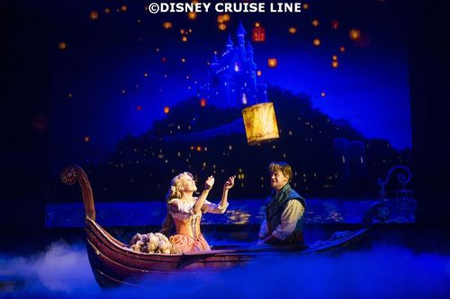 Tangled the Musical Debuts on Disney Magic