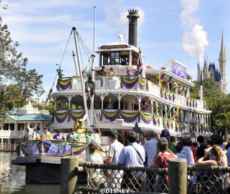 'Tiana's Showboat Jubilee