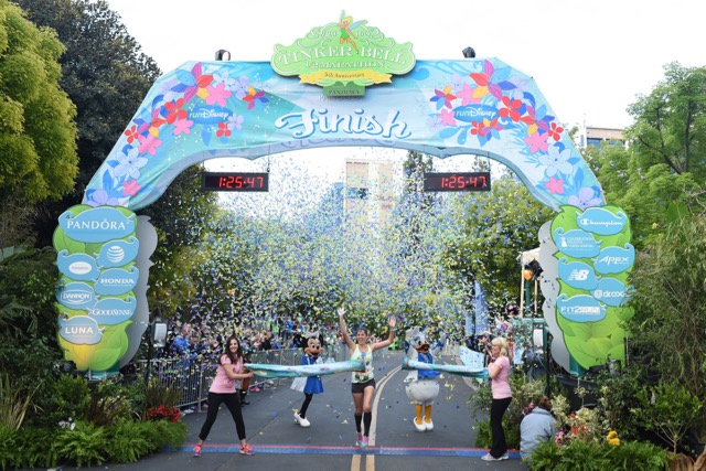 Southern Californian Soars to First Place in Tinker Bell Half Marathon