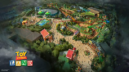 Toy Story Land Announcement VIDEO