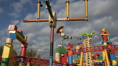 FastPass+ Now Open for Toy Story Land Attractions!