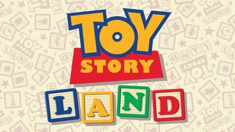 Toy Story Land logo