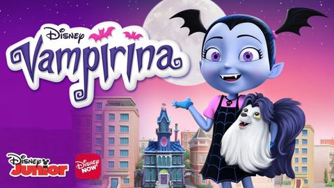 Vampirina from Disney Channel