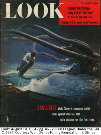 Look Magazine 20,000 Leagues
