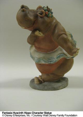 Fantasia Hippo Concept Statue